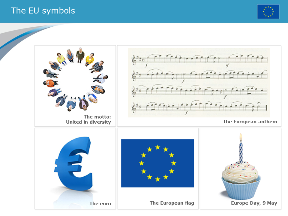 THE SYMBOLS OF THE EUROPEAN UNION